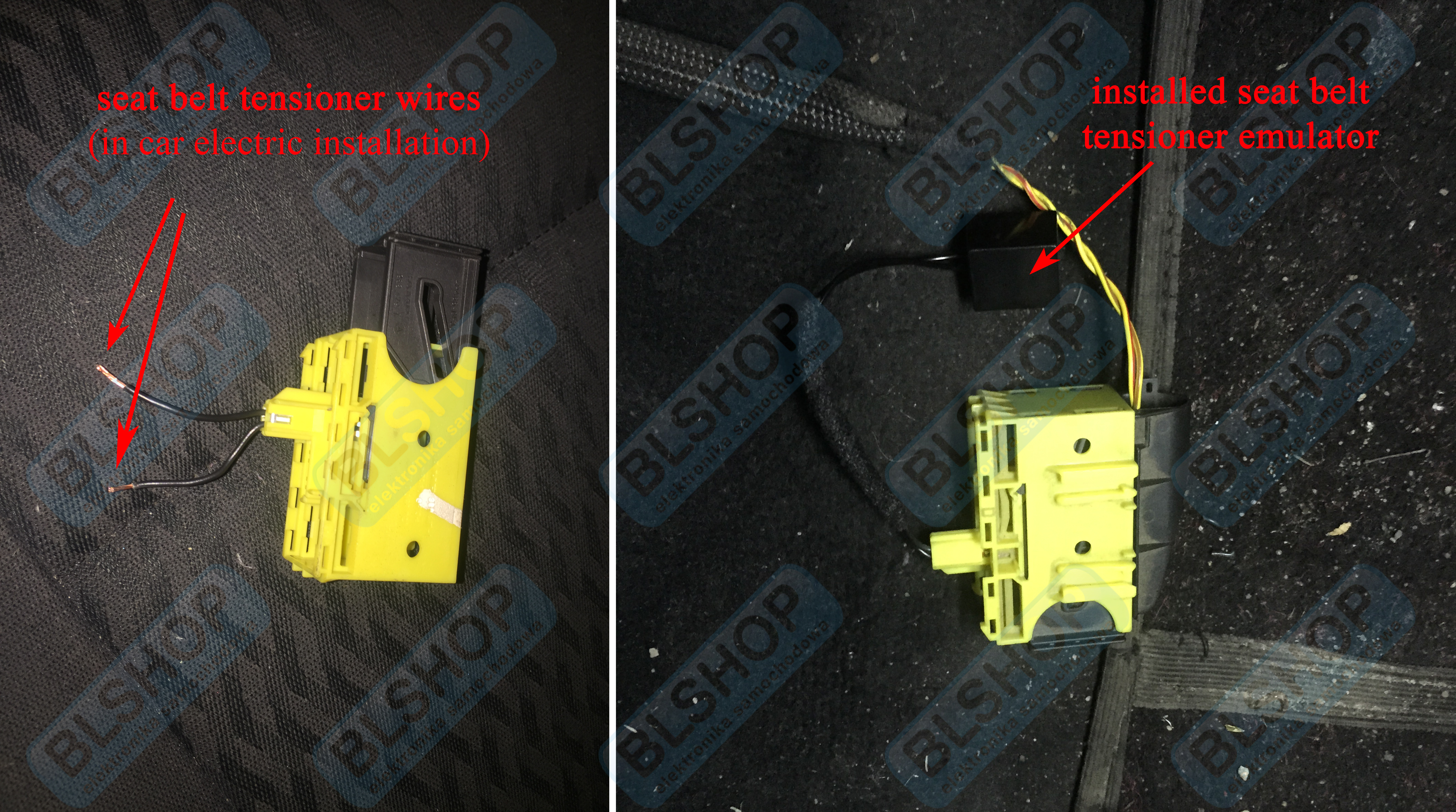 Bmw Seat Belt Tensioner Bypass For All Models E36 E46